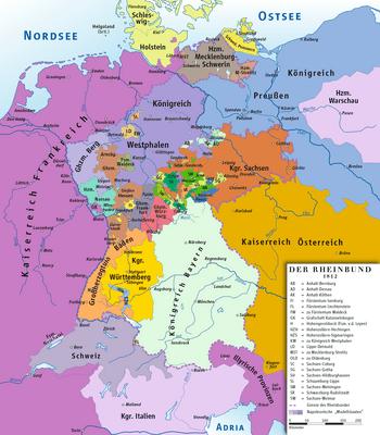 Resultado de imagen para Fotos de la Confederación del Rin
