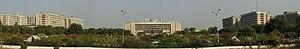 English: Panorama of Sachivalay (Gujarat Legis...