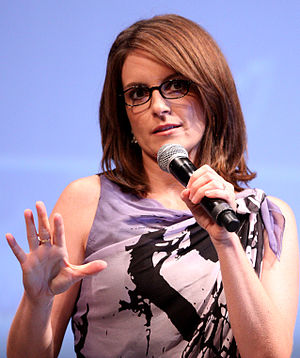 English: Tina Fey at the 2010 Comic Con in San...