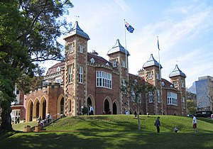 Government House, Perth, Western Australia.