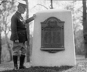 WWI Chaplains Monument, 1926 (same year as ded...