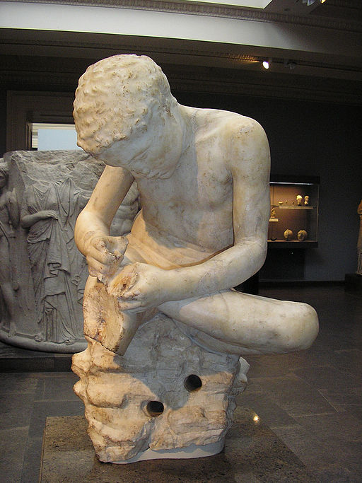 """""""Boy with Thorn"""" or """"Spinario"""" - British Museum"""