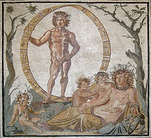Mozaika z Aion przedstawiające Matkę Ziemię