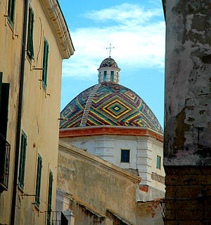 Dome of San Michele, Alghero/Italy.