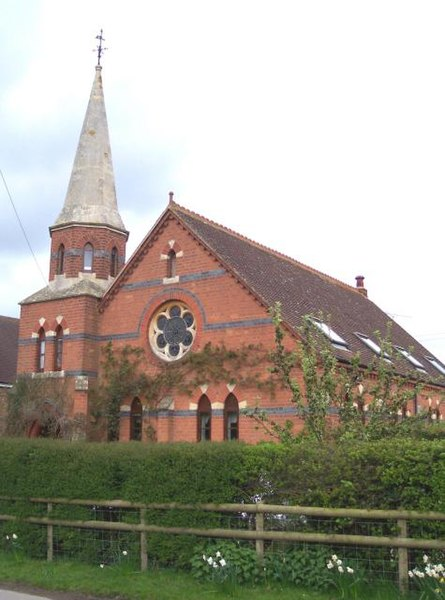 Birtsmorton Methodist Chapel.