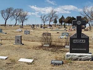 Calhan, Colorado cemetery.