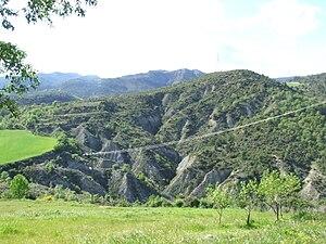 Conca de Dalt. Torallola. Barranc de Santa Cecília