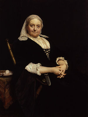 Dinah Maria Craik (née Mulock), by Sir Hubert ...