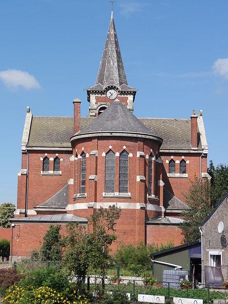 Fichier: Forest-en-Cambrésis (Nord, Fr) église, chevet.jpg