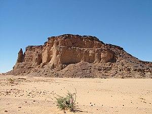 Gebel Barkal in Nubia (Sudan)