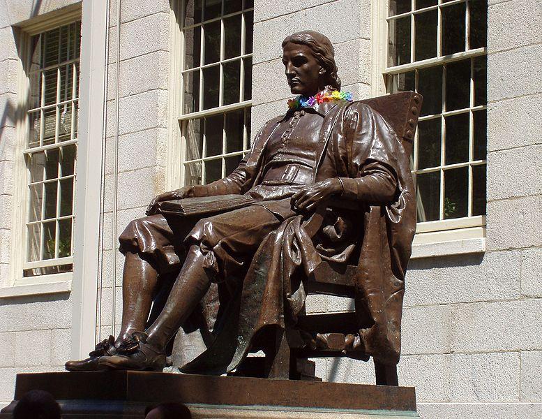 Tập tin:John Harvard statue at Harvard University.jpg