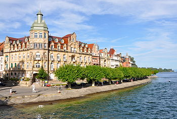 English: City of Constance, Jugendstil buildin...