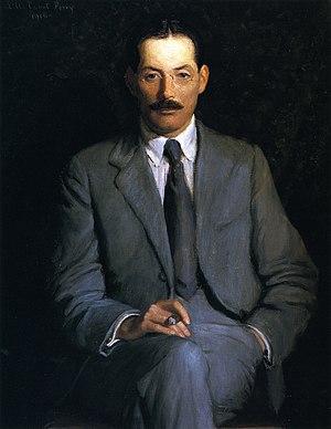 English: Portrait of Edwin Arlington Robinson
