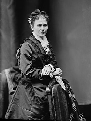 Lucretia Garfield. Library of Congress descrip...
