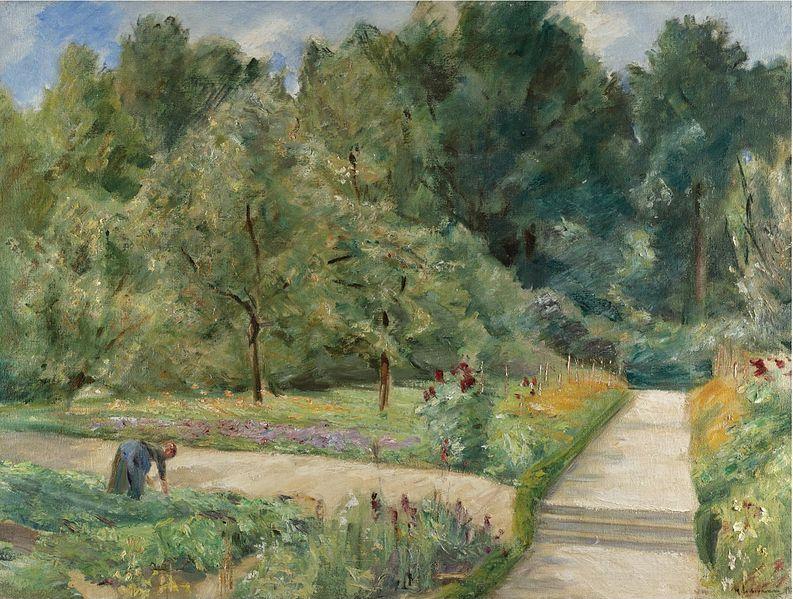 File:Max Liebermann - Der Nutzgarten in Wannsee nach Westen (1921).jpg