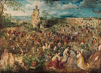 Путь на Голгофу (картина Питера Брейгеля) — Википедия