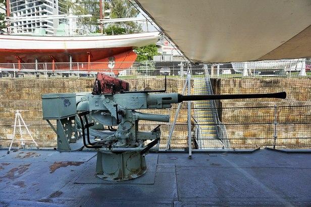 Queensland Maritime Museum - Joy of Museums - HMAS Diamantina (K377) 7