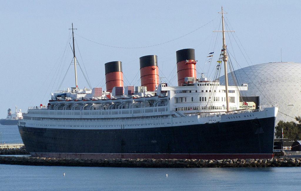 RMS Queen Mary in Long Beach, California