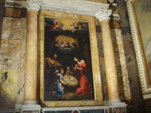 San Luigi dei Francesi, pala