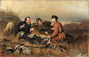 The Hunters at Rest 1871