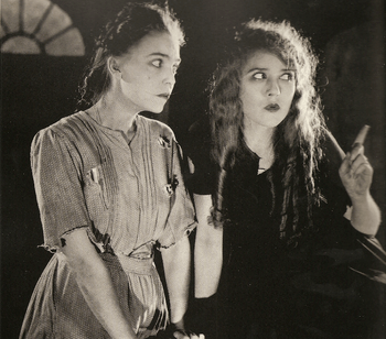 "ZaSu Pitts and Mary Pickford in the film ""..."