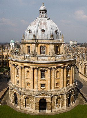 The photo of Radcliffe Camera of Bodleian Libr...