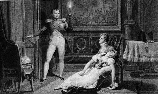 Divorce de Napoleon et Josephine