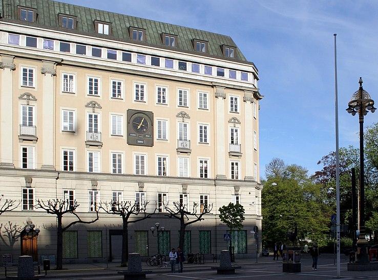 File:Former Kreditbanken Norrmalmstorg Stockholm Sweden.jpg