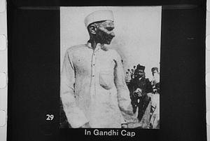 Gandhi cap