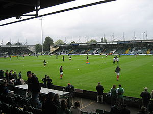 Huish Park, 29 September 2007, Yeovil Town and...