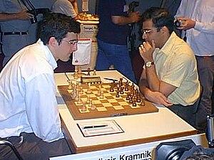 English: Wladimir Kramnik - Viswanathan Anand ...