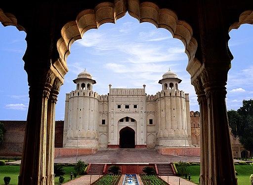 Lahore Fort view from Baradari