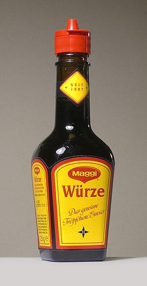 Maggi-Flasche. Neue Flasche, 2006.
