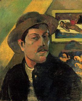PAUL GAUGUIN AUTO PORTRAIT musée d'Orsay