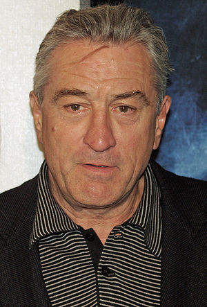 Robert De Niro at the premiere of Tennessee at...
