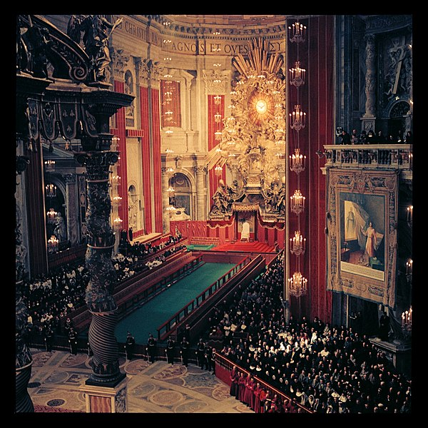 File:Second Vatican Council by Lothar Wolleh 005.jpg