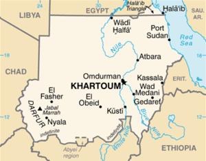Sudan combines the lands of several ancient ki...