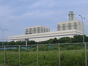 English: TEPCO HigashiOhgishima Thermal power ...