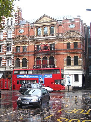 English: The Royal Court Theatre Sloane Square...