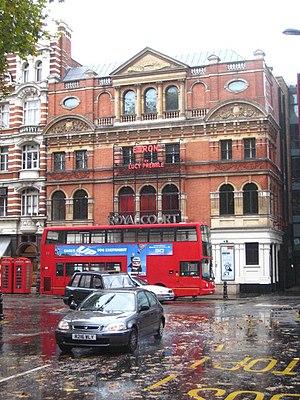 English: The Royal Court Theatre Sloane Square...