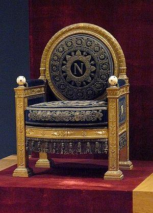 Trône de Napoléon Ier