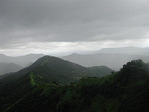 Monsoon in the Westghats in Maharashtra, India