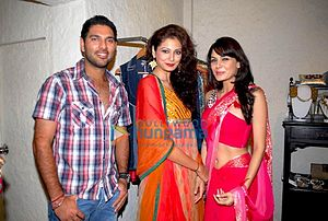 Yuvraj Singh at an event