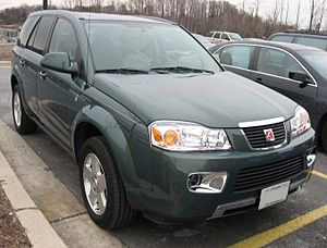 2006-2007 Saturn Vue V6 AWD photographed in US...