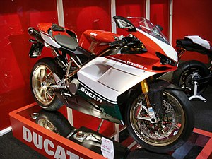 2007 Ducati 1098 S Tricolore on display at the...