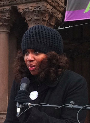 English: A photo of Ayanna Pressley an At-Larg...