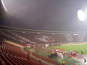 Delije during the FK Crvena Zvezda - FK Partiz...