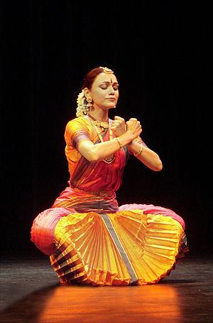 A Bharatanatyam danseuse