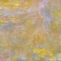 """Water-Lilies"" by Claude Monet (National Gallery, London)"