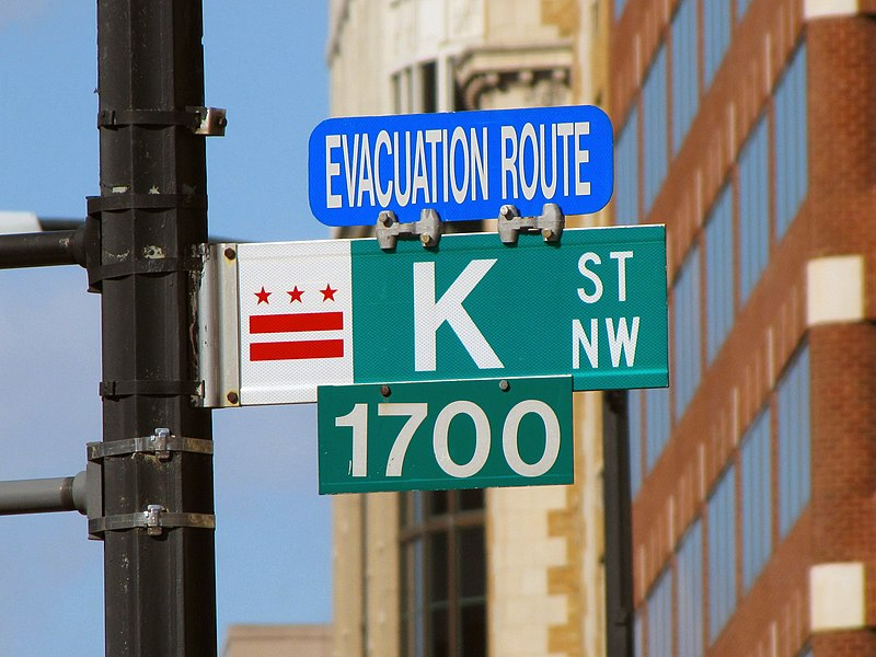 K Street - photo from from Wikipedia commons